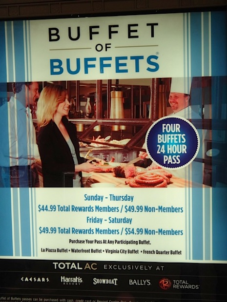 bargain food in atlantic city rh atlantic city guidebook com 24 hour buffet las vegas strip 24 hour las vegas buffet deals