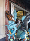 Need a Mermaid Statue with Dolphins? Visit the Boardwalk, if You Do...