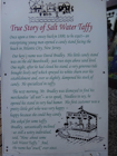 The History of Salt Water Taffy